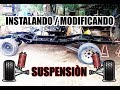 Chevy c10 1963 - Modificando e Instalando Suspensión