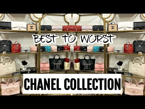 BEST/MOST USED TO WORST/LEAST USED | FAVS, WEAR & TEAR | CHANEL HANDBAG COLLECTION 2019 | CHARIS❤️
