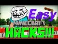 How to get HACKS for Minecraft 1.12.2+ Tutorial - EASY