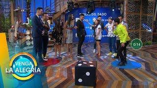 Actuación espectacular de Mariano se vio reflejada en el marcador de Sin Palabras.| Venga La Alegría