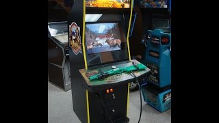 big buck hunter call of the wild arcade game gameplay artwork overview video