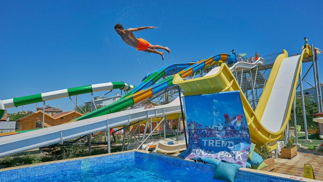 Trend Aqua Park in Turkey (Turkish Music Video)