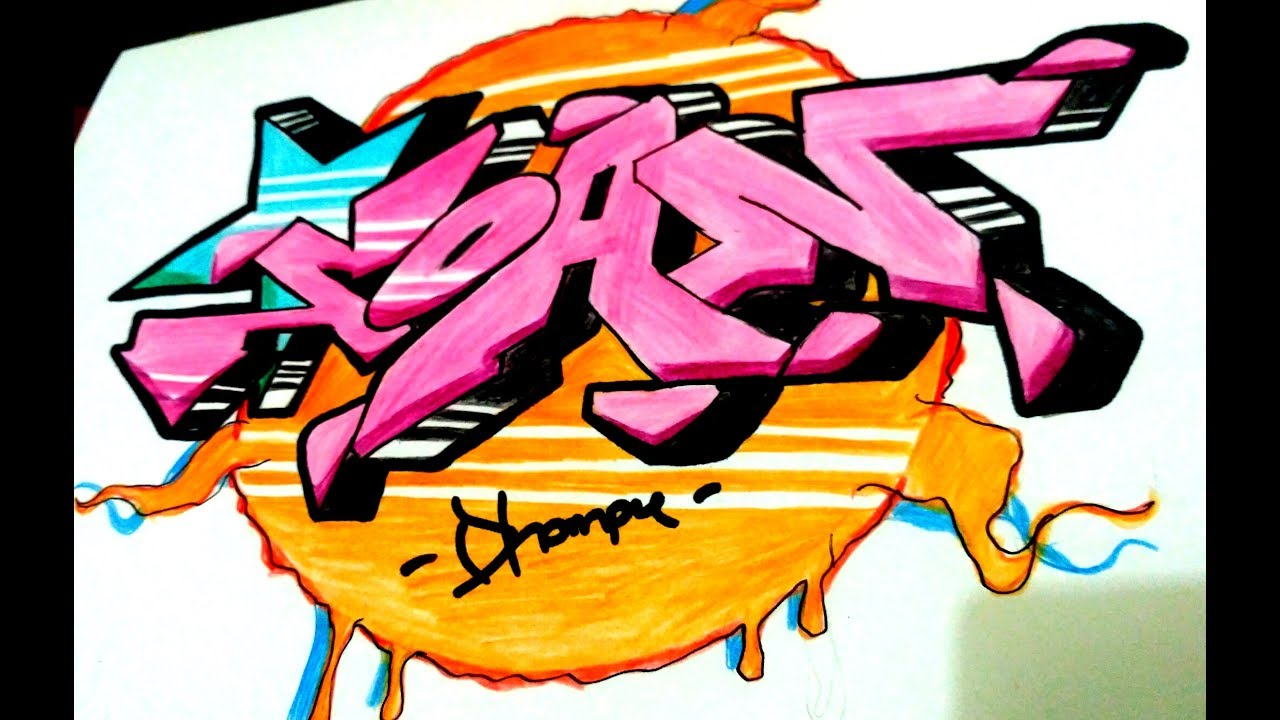 Graffiti soan simple