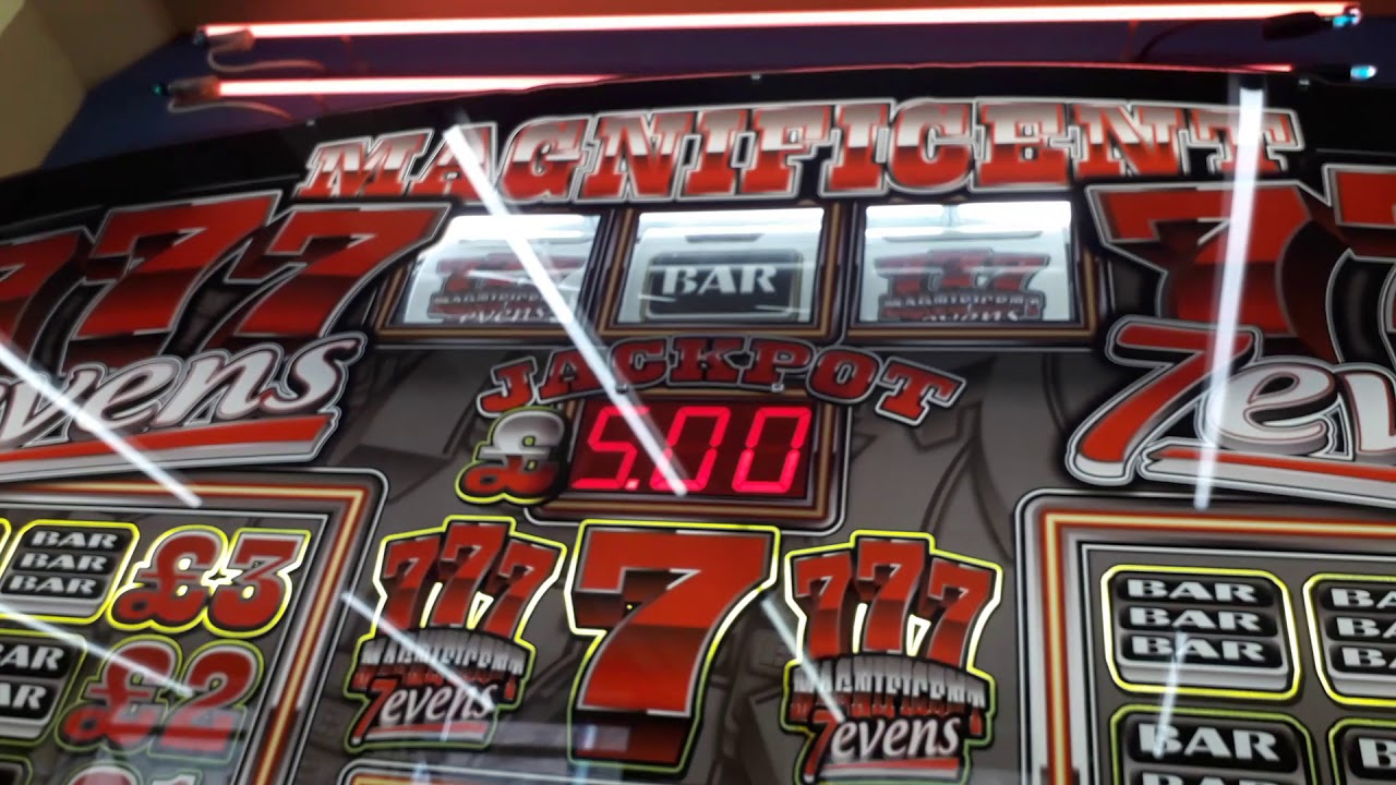 4 JACKPOTS IN A ROW ON MAGNIFICENT SEVENS FRUIT MACHINE 2019 WSM UK ARCADES