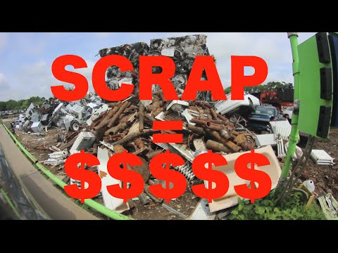 How to Make MONEY Selling Scrap METAL
