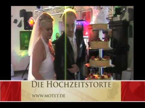 Die Hochzeitstorte Motet 2009 Hochzeitstorte Schneiden Youtube