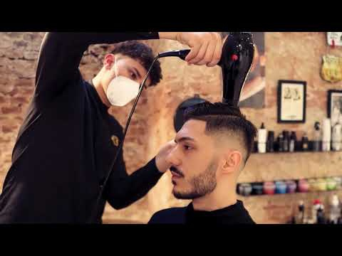 Haarschnitt Borbone Barber  x Mr.Okn - 2021 Haircut | Männer Style | Music (Prod. by Mixla)