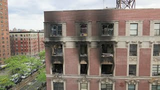 4 kids and 2 adults killed in Harlem fire