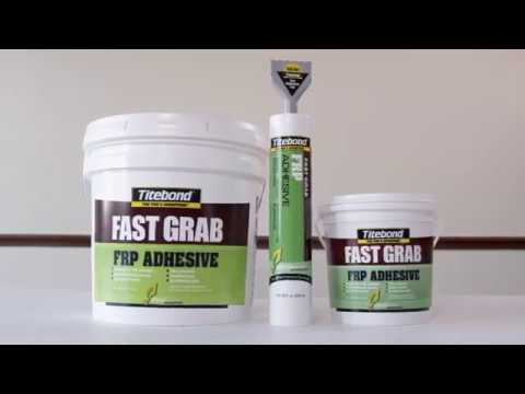 Titebond GREENchoice Fast Grab FRP Adhesive New Size and Applicator