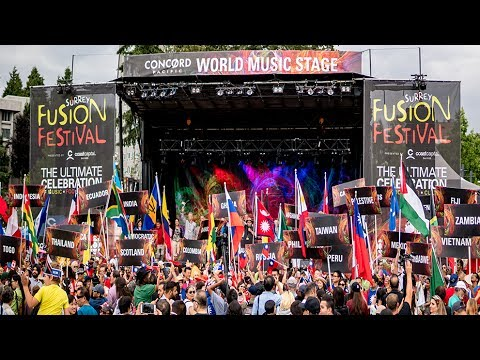 Surrey Fusion Festival: Lineup Announcement - 2017