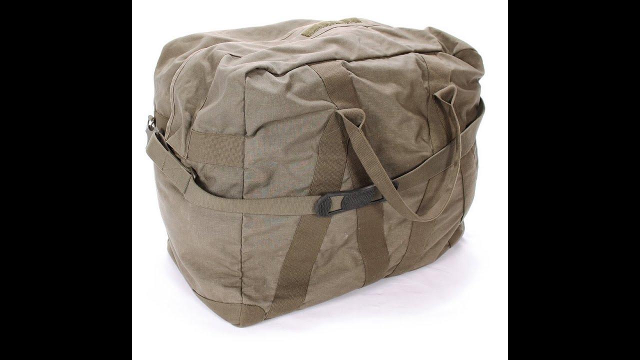 Транспортная сумка бундесвер - YouTube