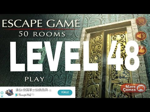 Escape Game 50 Rooms 1 Level 48 Walkthrough Youtube
