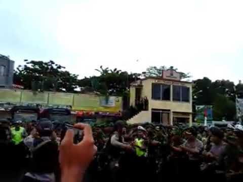 Luwuk Banggai TNI POLRI BERSATU LUWUK DAMAI