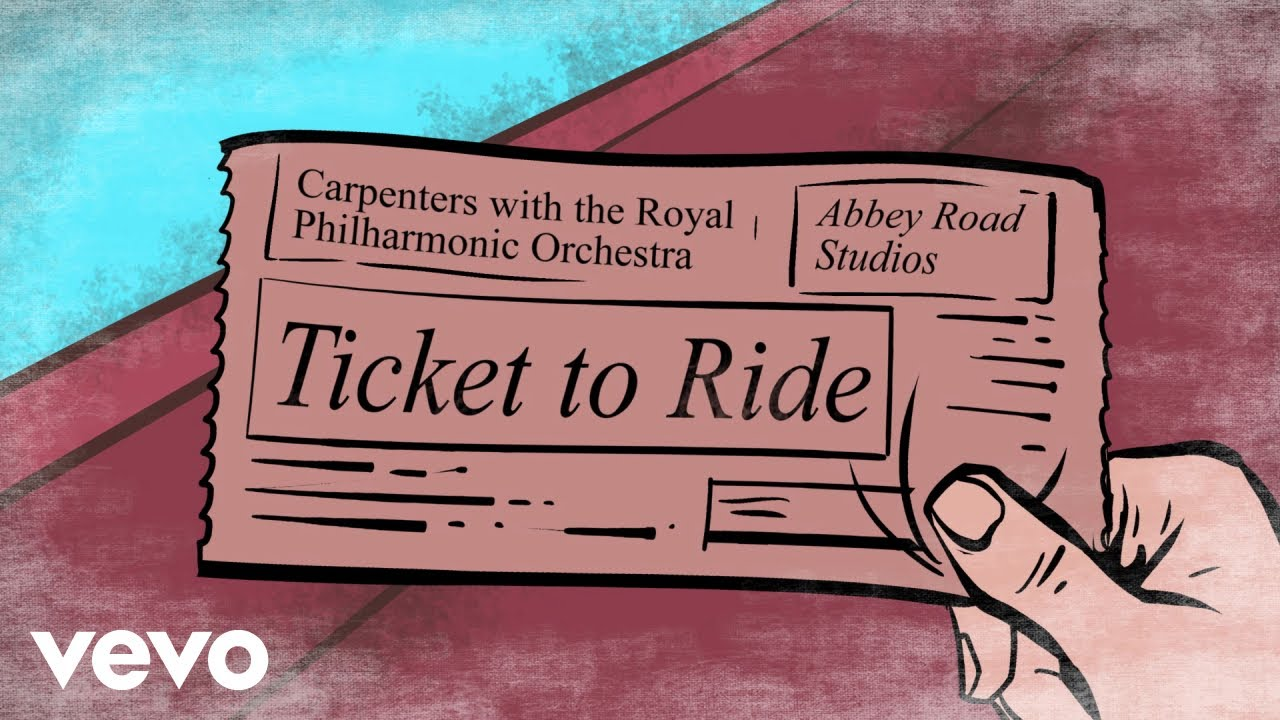 Download The Carpenters - Ticket To Ride (Lyric Video)