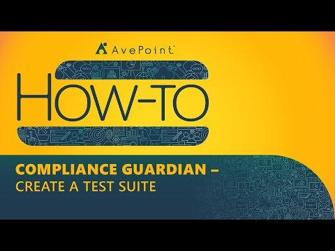 AvePoint Compliance Guardian | Incident Management from YouTube · Duration:  2 minutes 15 seconds