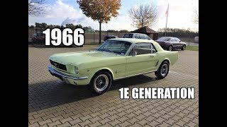 1966 Ford mustang 289CI hardtop  Review & TestDrive JMSpeedshop !