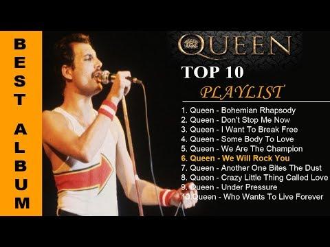 TOP 10 QUEEN SONG  | 10 LAGU TERBAIK QUEEN  SEPANJANG MASA #POPULER
