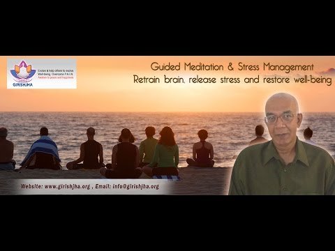 Ep-5 Live Guided Med and Stress Management - without right perception , meditation is not possible?
