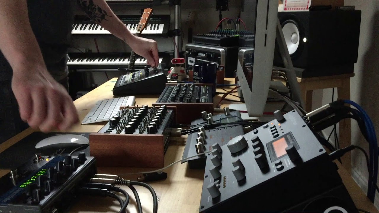 MODE MACHINES x0xb0x MK3 FINAL EDITION (James Welsh User Session 1)