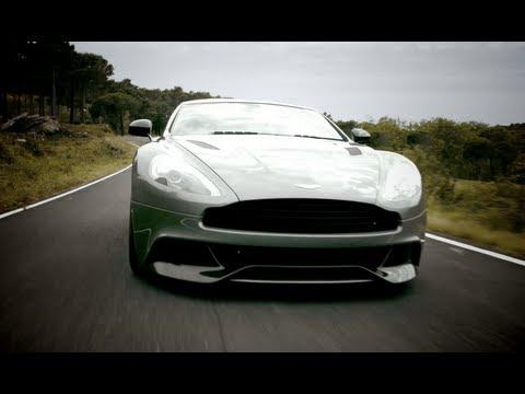 Aston Martin Vanquish Super Sports Car Video Youtube
