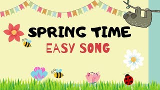 Spring Song for kids | Easy Monkey Songs