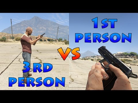 1st Person Vs 3rd Person (Weapon Handling)