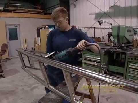 Custom Stainless Steel Arch Powerboat Tv Youtube