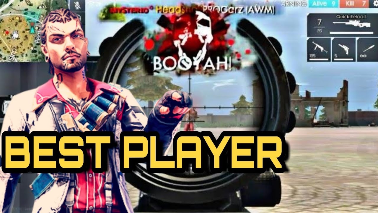 Free Fire Best Player Watch And Learn Tk Gamer Youtube