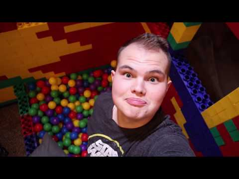 24 HOURS in a GIANT LEGO FORT! Boys Only Fort!