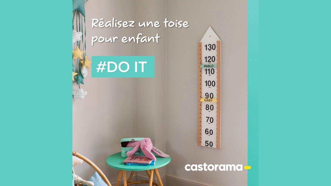 DIY : Réalisez une toise pour enfant - Castorama