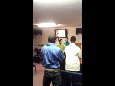Deitrick Haddon Judah mime dance