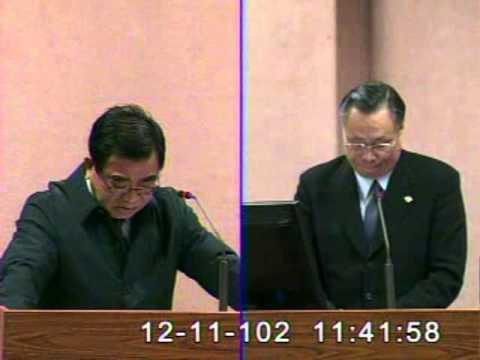 2013-12-11 王進士 發言片段, 第8屆第4會期外交及國防委員會第21次全體委員會