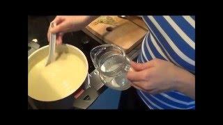 Крем-суп из цветной капусты с мидиями и фенхелем
