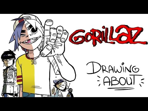 Download Youtube: GORILLAZ | Drawing About
