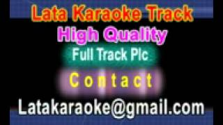 Tere Mere Hoton Pe Meethe Meethe Karaoke Chandni {1989} Lata Mangeshkar,Babla Mehta