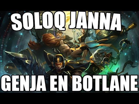 ON CARRY GENJA - SoloQ Janna - In mother Russia ...