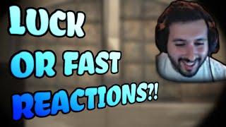 CS:GO - LUCK or Quick Reactions?! - mOE TV