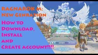 Wie zum download/installieren/erstellen Konto in RAGNAROK M: die NEUE GENERATION!!!