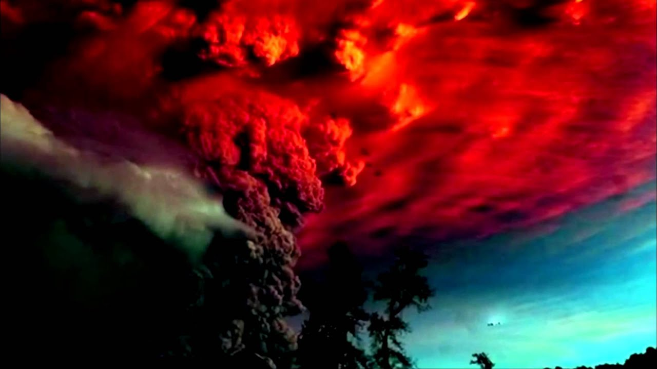 Water Fall Hd Wallpaper 4k Ufo Over Volcano Puyehue Chile Youtube