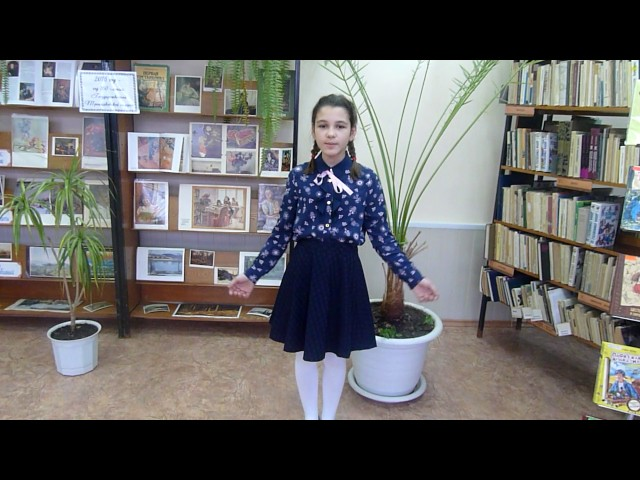 Изображение предпросмотра прочтения – НадеждаМолодцова читает произведение «Крестьянские дети» Н.А.Некрасова