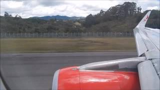 Avianca Airbus A321 despegando de Medellin Jose Maria Cordova Rionegro