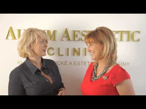 Aurum Aesthetic Clinic - Miluše Bittnerová  - Proměna paní Kateřina