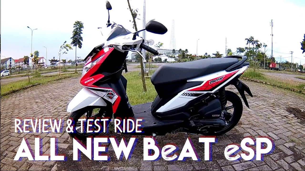 5 Review And Test Ride All New Honda BeAT ESP YouTube