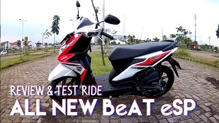 #5 Review and Test Ride - All New Honda BeAT eSP