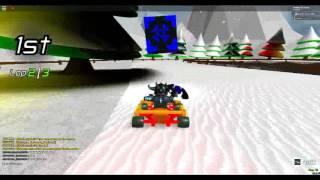 ROBLOX: Kart Rage (Snow Go) by Explosive Entertainment - Gameplay/Walkthrough