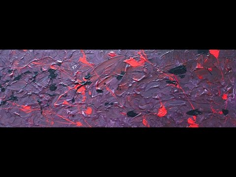 "Abstract Painting Art Demo - ""Remember Tomorrow"" Embrace The Matrix @embracematrix"