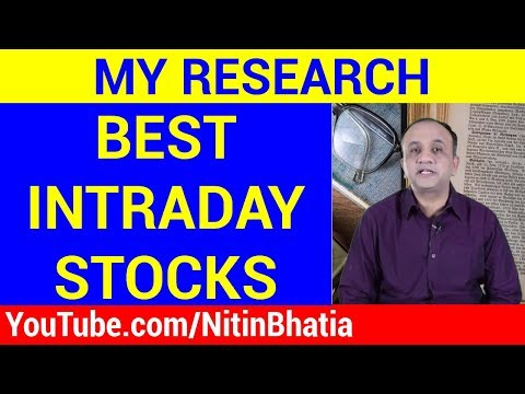 Best Stocks for Intraday Trading – Result of My Research (HINDI)