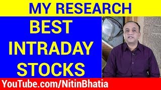 Best Stocks for Intraday Trading - Result of My Research (HINDI)