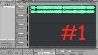 Adobe Audition 3.0 - Урок по программе (Как убрать шум, как сделать голос однотонным)