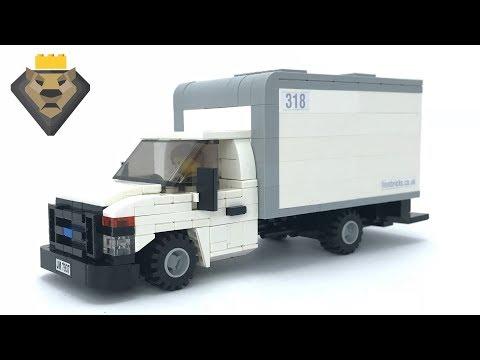 Lego Ford E Cutaway Truck Vehicle MOC